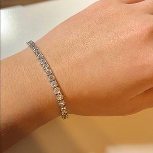 NWT Silver Tennis Bracelet